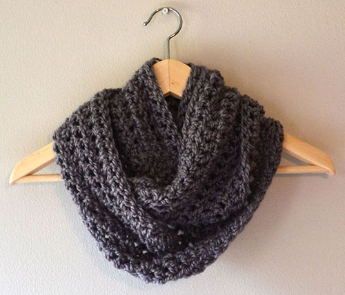 Free Easy Infinity Scarf Pattern Easy Crochet