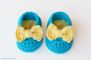 Adorable Lemon Drop Baby Booties Pattern