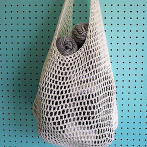 Crocheted Farmers Market Bag