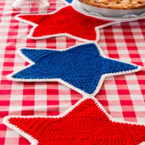 Americana Star Table Runner